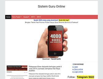sistemguruonline.my screenshot