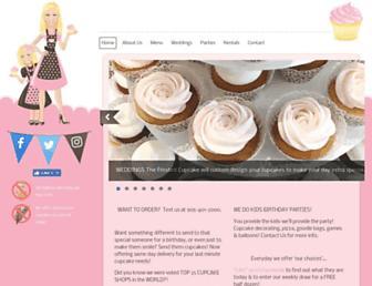thefrostedcupcake.ca screenshot