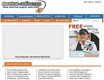 electrical-online.com screenshot