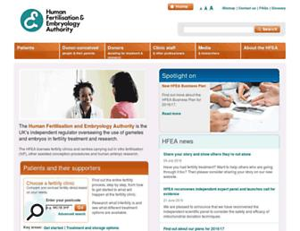 Thumbshot of Hfea.gov.uk