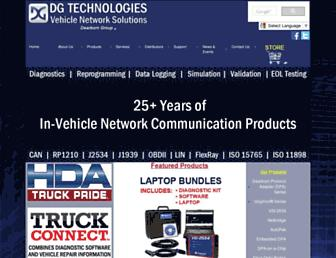 dgtech.com screenshot