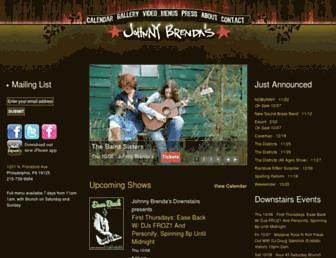 johnnybrendas.com screenshot