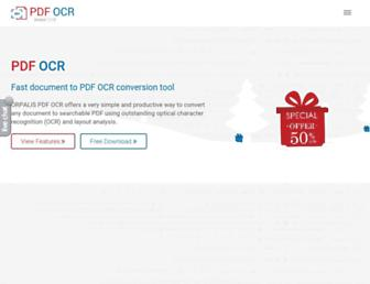 pdfocr.orpalis.com screenshot
