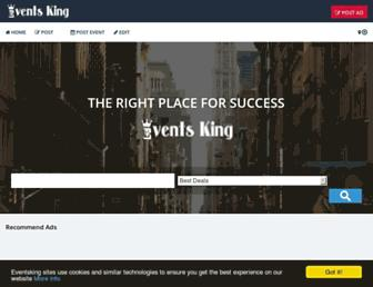 Thumbshot of Eventsking.com