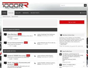 1000rr.co.uk screenshot