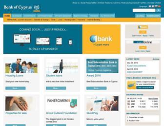 Thumbshot of Bankofcyprus.com.cy