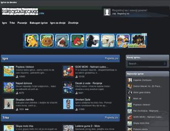 igricezadecake.com screenshot