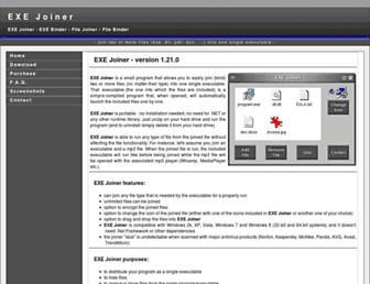 exejoiner.com screenshot