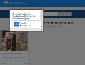 freepikpsd.com screenshot
