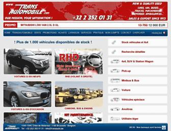 transautomobile.com screenshot