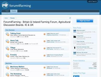 forum4farming.com screenshot