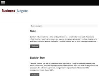 businessjargons.com screenshot