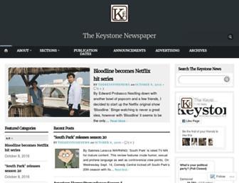 thekeystonenews.com screenshot