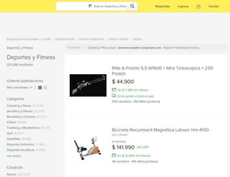deportes.mercadolibre.cl screenshot