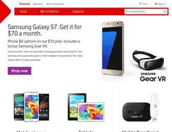 vodafone.com.au screenshot