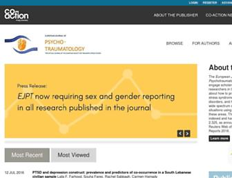 Main page screenshot of ejpt.net