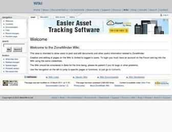 wiki.zoneminder.com screenshot