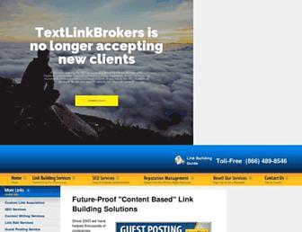 Thumbshot of Textlinkbrokers.com