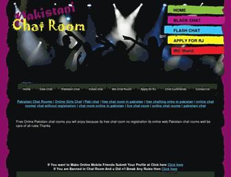 pakistanichatrooms.net screenshot