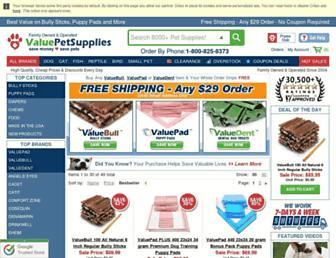 Thumbshot of Valuepetsupplies.com
