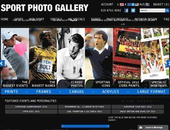 sportphotogallery.com screenshot