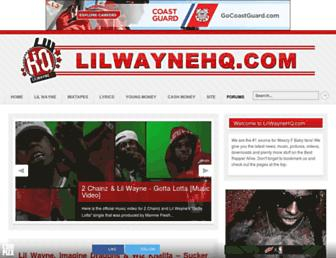 lilwaynehq.com screenshot