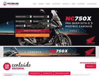 motonline.com.br screenshot