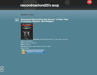 reecondreachond25.soup.io screenshot