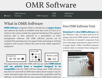 omr-software.com screenshot