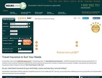 insureandgo.com.au screenshot