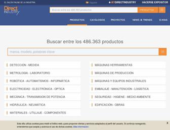 directindustry.es screenshot