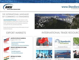 standardsportal.org screenshot