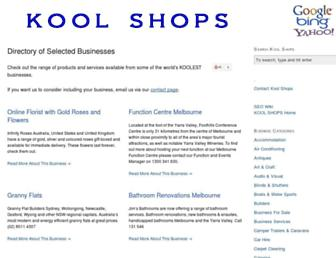 Thumbshot of Koolshops.com