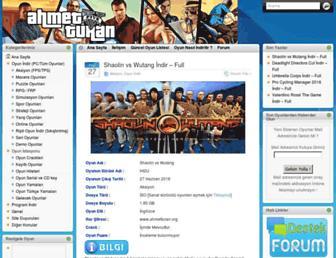 ahmetturan.org screenshot