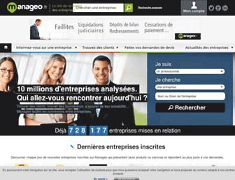 manageo.fr screenshot