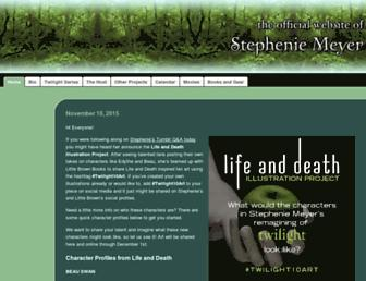 Thumbshot of Stepheniemeyer.com