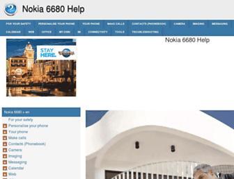 nokia-6680.helpdoc.net screenshot