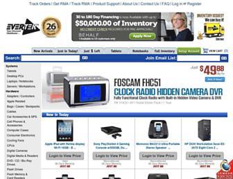 evertek.com screenshot