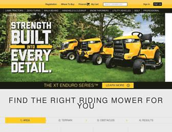 Thumbshot of Cubcadet.com