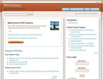 poi-factory.com screenshot