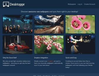 Thumbshot of Desktoppr.co
