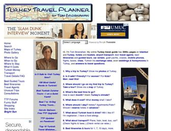 turkeytravelplanner.com screenshot