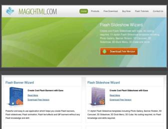 magichtml.com screenshot