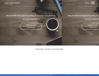 joomboost.com screenshot