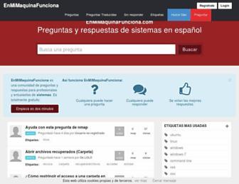 enmimaquinafunciona.com screenshot