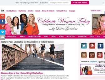 Thumbshot of Celebratewomantoday.com