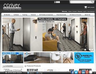 cgriver.com screenshot