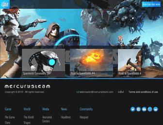 spacelordsthegame.com screenshot