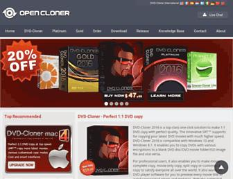 dvd-cloner.com screenshot