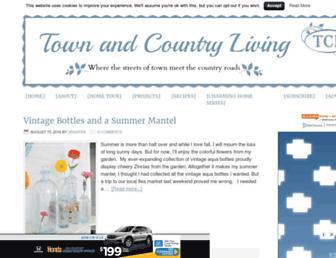 town-n-country-living.com screenshot